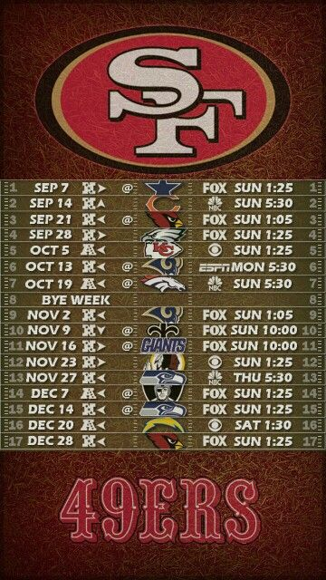 San Francisco 49ers Wallpaper Iphone Download 49ers Schedule Wallpaper Gallery
