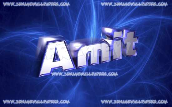 Happy Birthday 3d Name Wallpaper Download Amit Name Wallpaper Hd Gallery