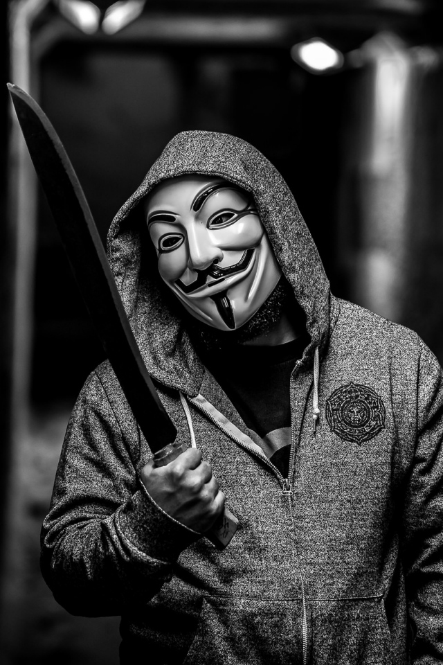 V For Vendetta Quotes Iphone Wallpaper Download Anonymous Phone Wallpaper Gallery