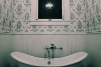 Download Black And White Bathroom Wallpaper Gallery