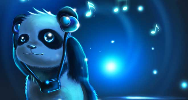 Wallpaper 3d Bergerak Free Download Download Blue Panda Wallpaper Gallery