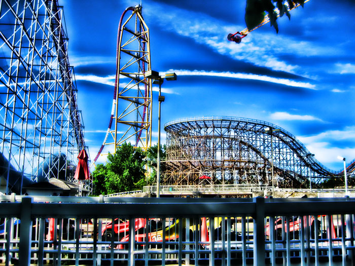High Quality 3d Animated Video Wallpapers Download Cedar Point Wallpaper Gallery
