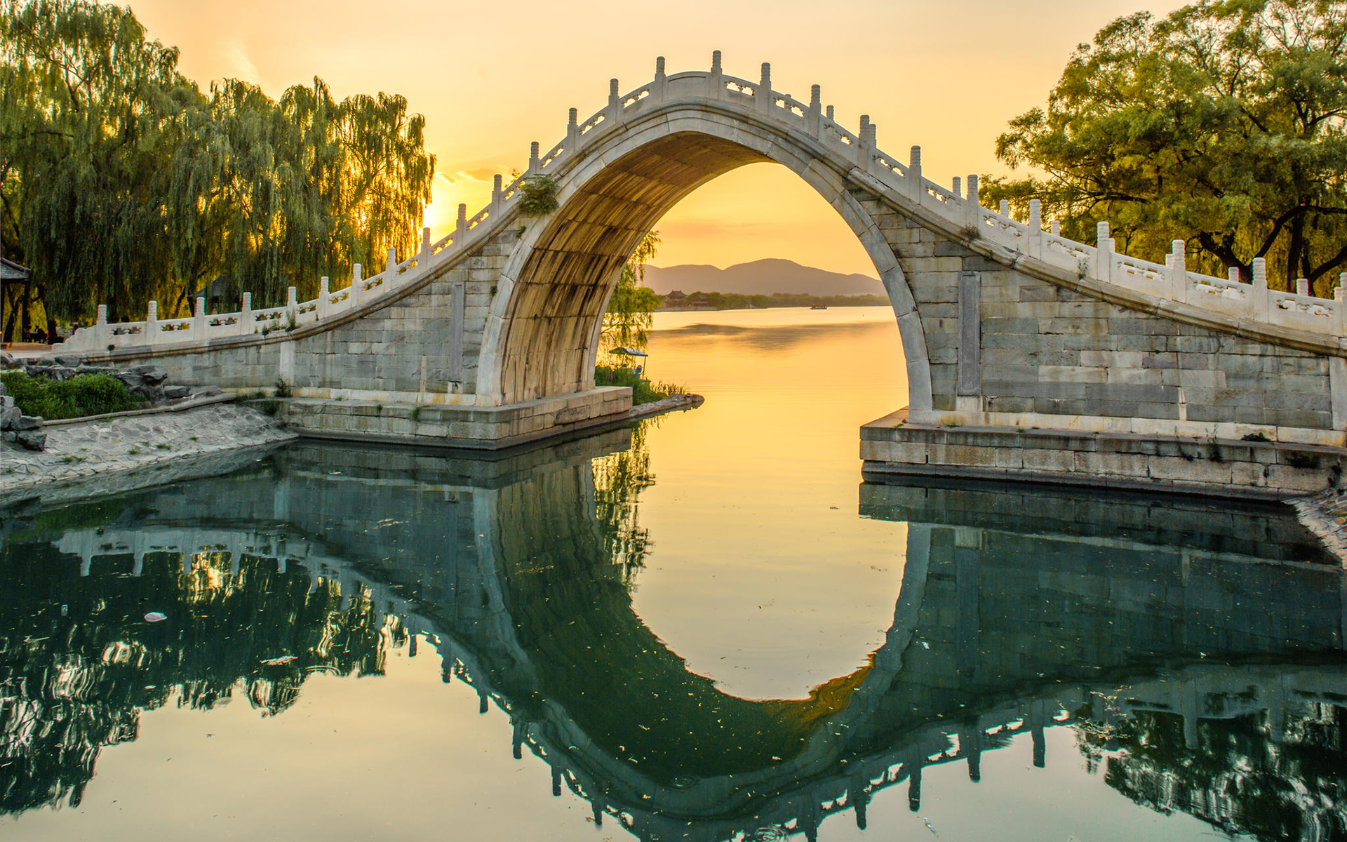 Summer Android Wallpaper Quotes Download Chinese Bridges Wallpaper Gallery