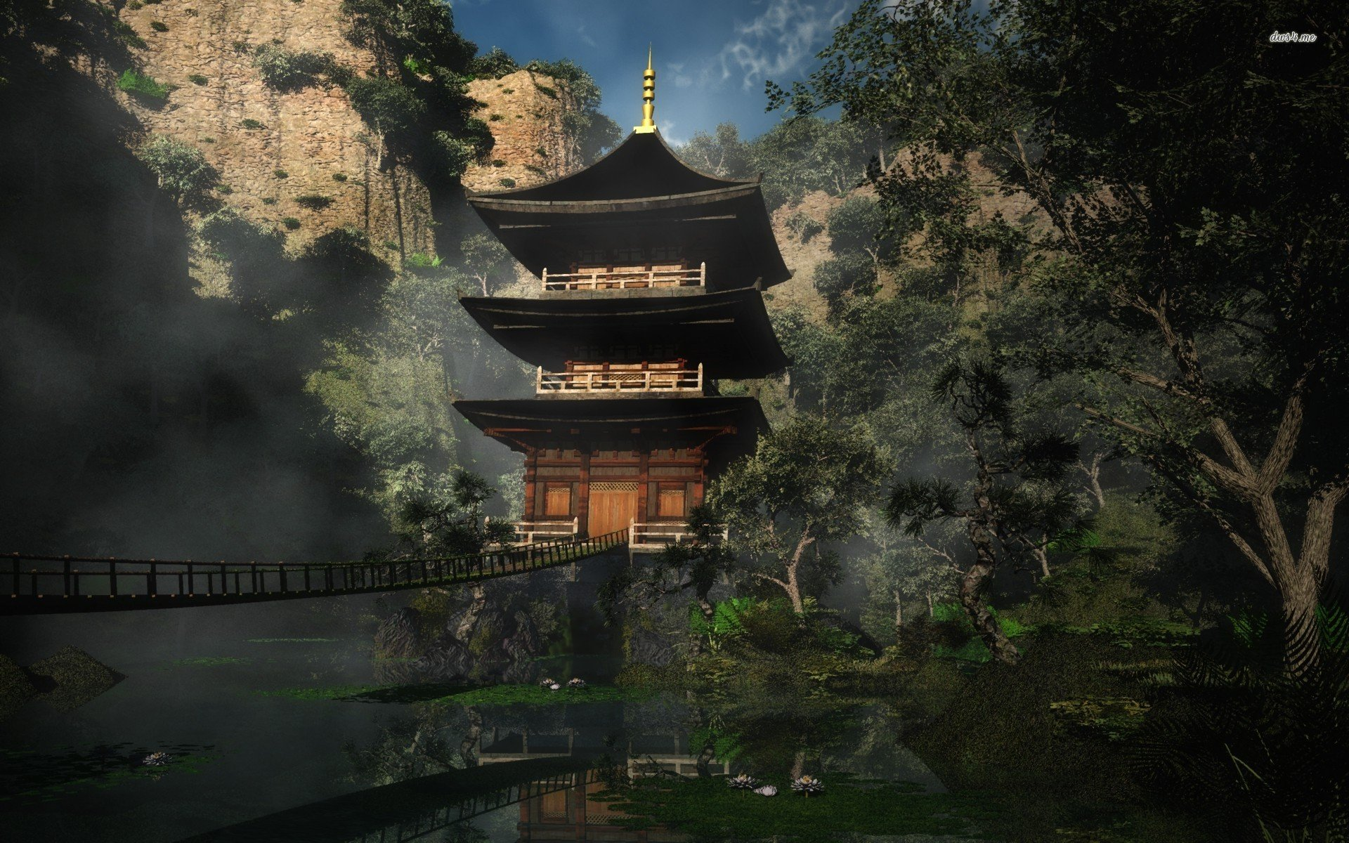 God Live Wallpaper Hd Download Chinese Temple Wallpaper Gallery