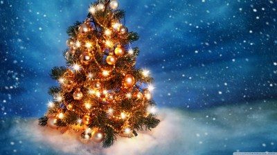 Download Christmas Tree HD Widescreen Wallpaper Gallery
