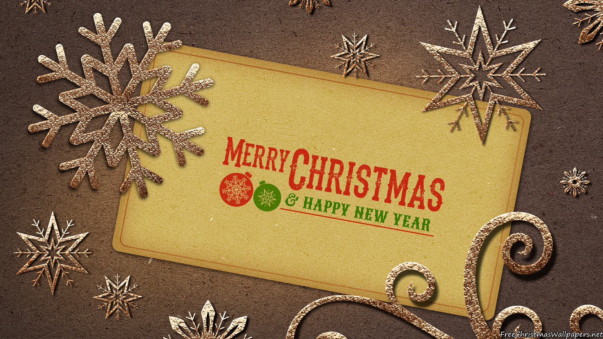Happy New Year 3d Wallpaper Download Download Christmas Vintage Wallpaper Gallery
