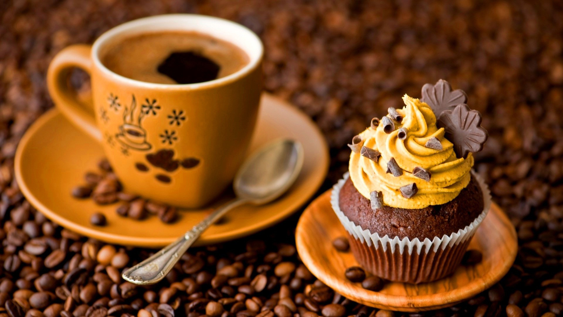 Cupcake Iphone Wallpaper Download Coffee And Cream Wallpaper Gallery