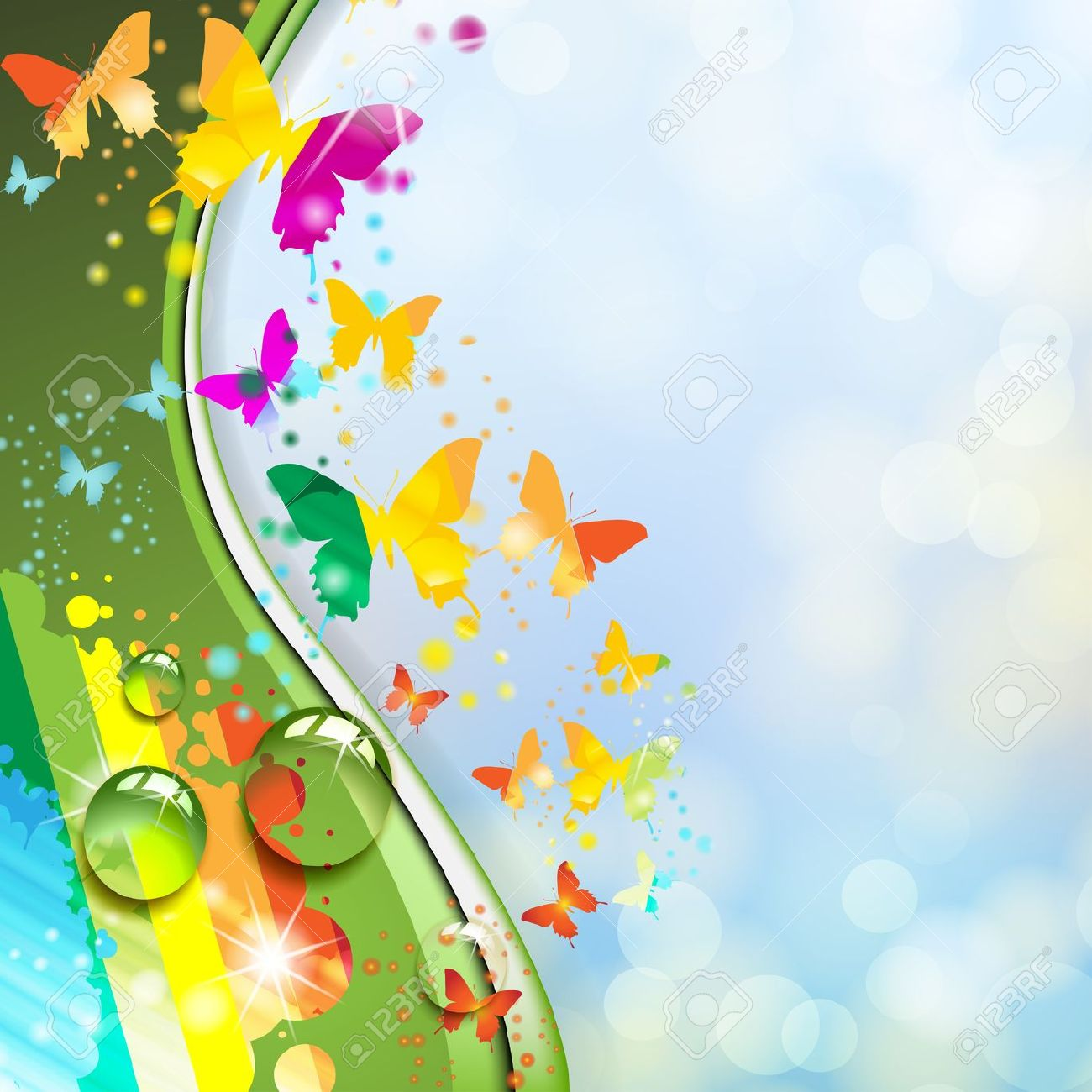 Cute Butterflies Hd Wallpapers Download Colorful Butterfly Wallpaper Gallery