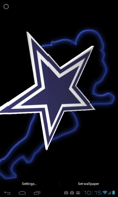Download Dallas Cowboys 3D Live Wallpaper Gallery