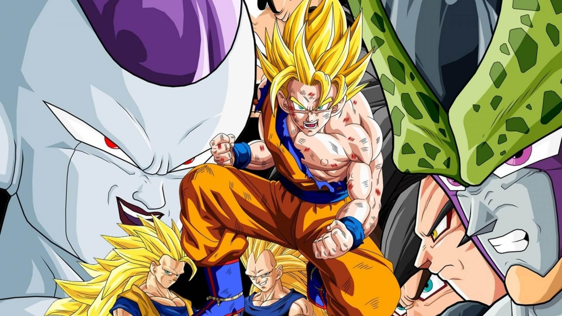 Dragon Ball Wallpaper 3d Hd Download Dragon Ball Z Goku Super Saiyan 1000 Wallpaper