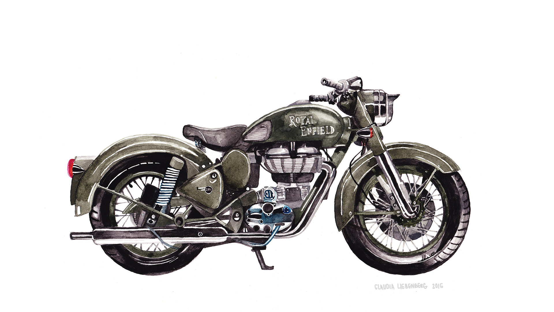 Royal Enfield Cafe Racer Hd Wallpaper Download Enfield Paint And Wallpaper Gallery