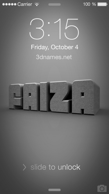 3d My Name Live Wallpaper Download Faiza Name Wallpaper Gallery
