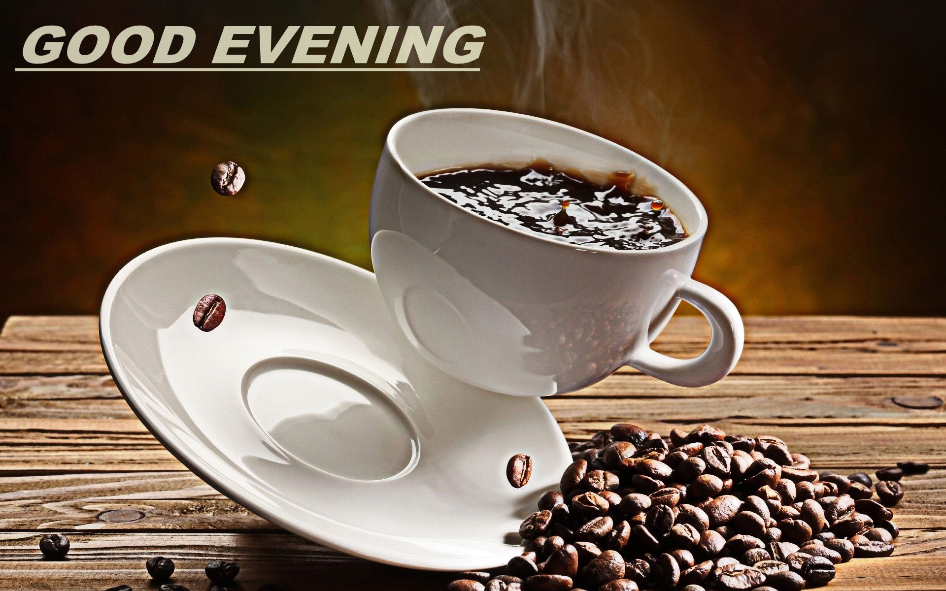 3d Clock Live Wallpaper Download Good Evening Wallpapers With Coffee Gallery