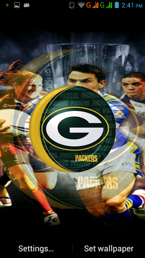 Download Green Bay Packers Live Wallpaper Gallery