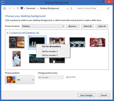 Download How To Have Different Wallpapers On Each Monitor Windows 7 Gallery