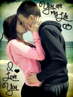 Animated Couple Kissing Wallpaper Download I Love U Kiss Wallpaper Gallery
