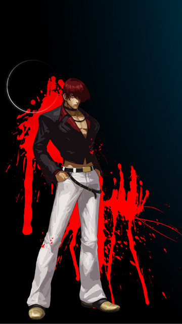 Cool Phone Wallpapers For Girls Download Iori Yagami Wallpapers Download Gallery