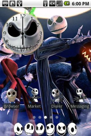 3d White Rose Wallpaper Download Jack Skellington Live Wallpaper Gallery