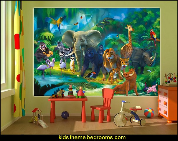 Cute Male Baby Wallpapers Download Jungle Book Wallpaper Children Room Gallery