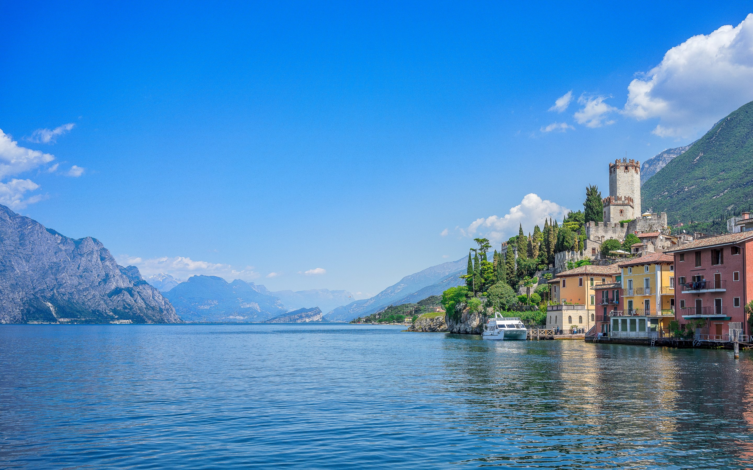 Wallpaper Hd For Desktop Full Screen Cute Baby Download Lake Garda Wallpaper Gallery