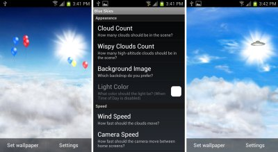 Download Live Weather Wallpaper For Android Phone Gallery