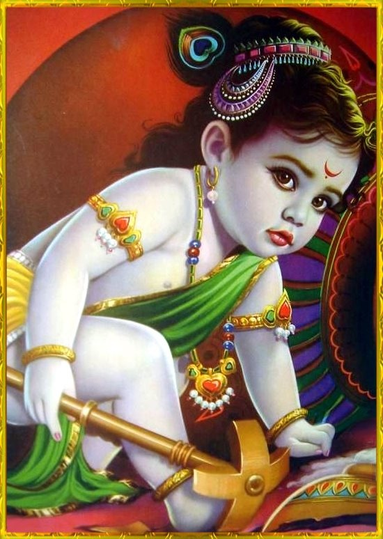 3d Wallpaper Of Sri Krishna Download Lord Baby Krishna Images Wallpapers Gallery