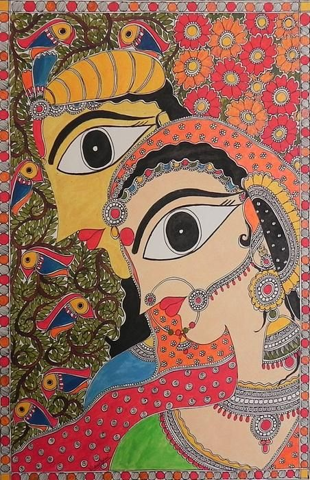 3d Wallpaper In Bangalore Download Madhubani Painting Wallpapers Gallery