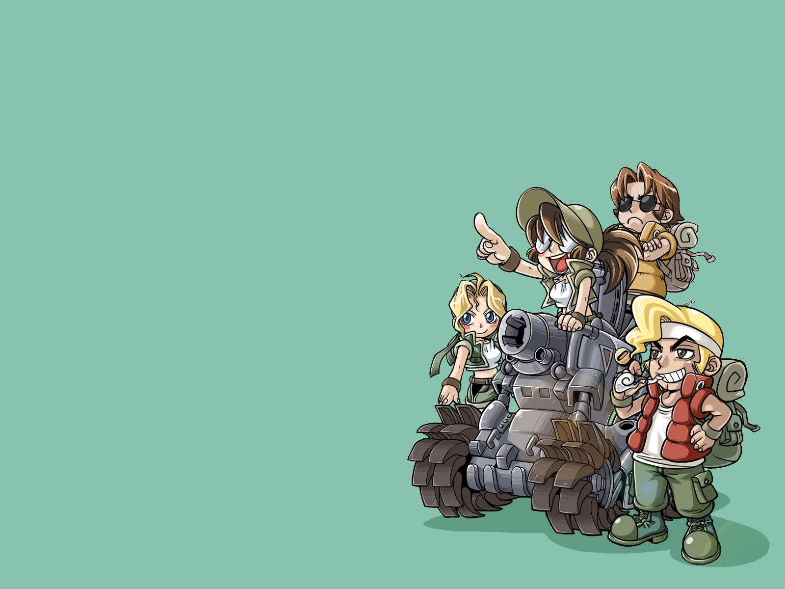 Cute Cartoon Horse Wallpaper Download Metal Slug Wallpaper Gallery