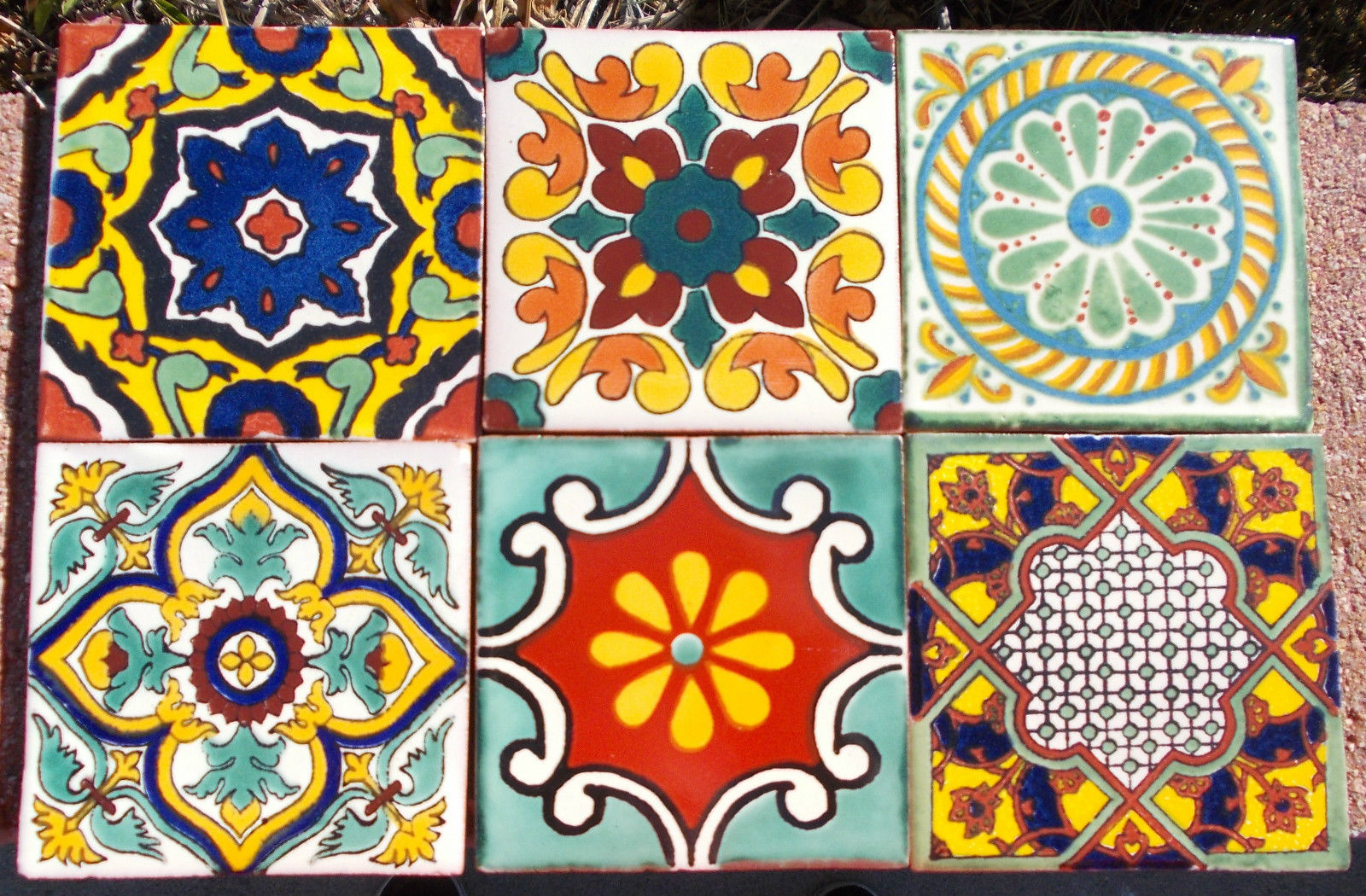 3d Red Star Live Wallpaper Download Mexican Tile Wallpaper Gallery