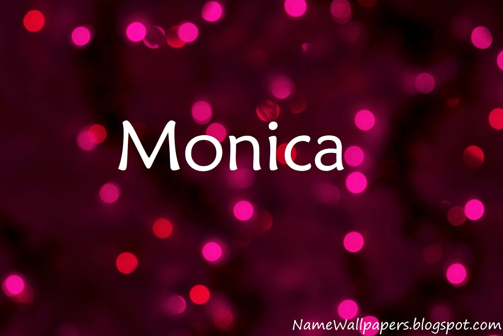 Download 3d Name Wallpapers For Pc Download Monica Name Wallpaper Gallery