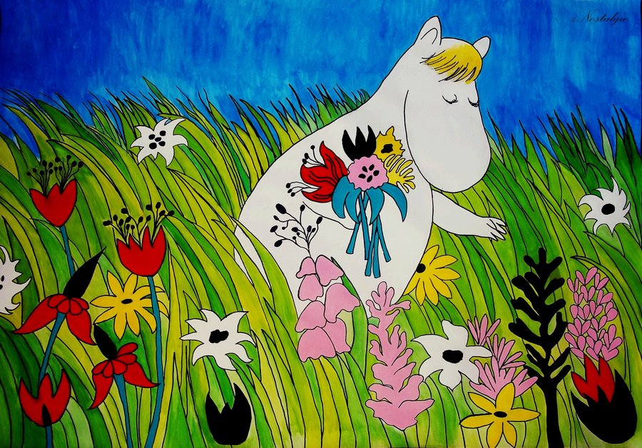 3d Name Wallpaper Free Download For Mobile Download Moomin Valley Wallpaper Gallery
