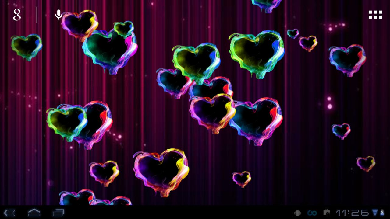 Love Magic Hd Live Wallpaper Download Moving Hearts Wallpaper Gallery