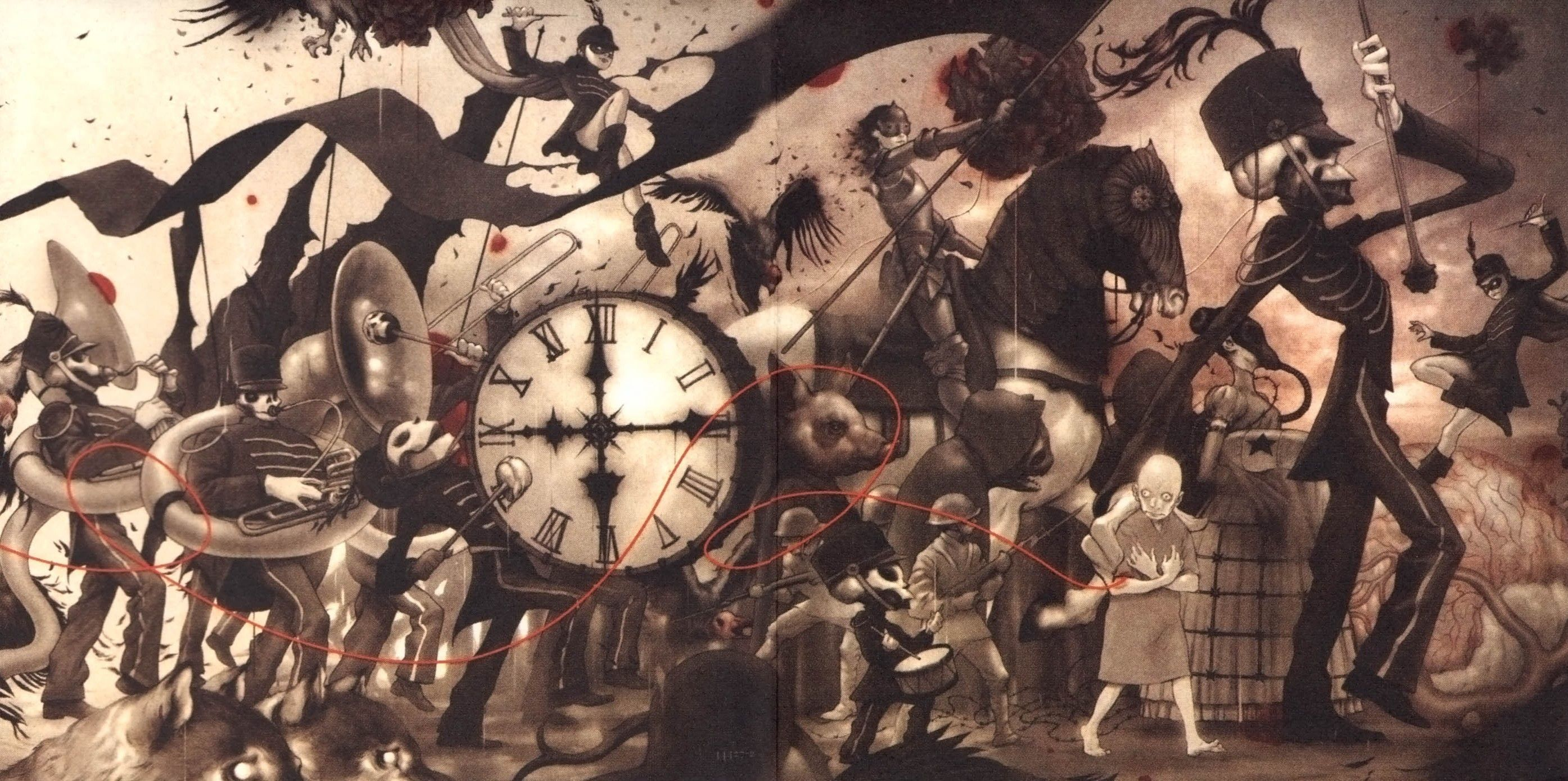 Free Download Animated Wallpapers For Windows 7 Ultimate Download My Chemical Romance The Black Parade Wallpaper