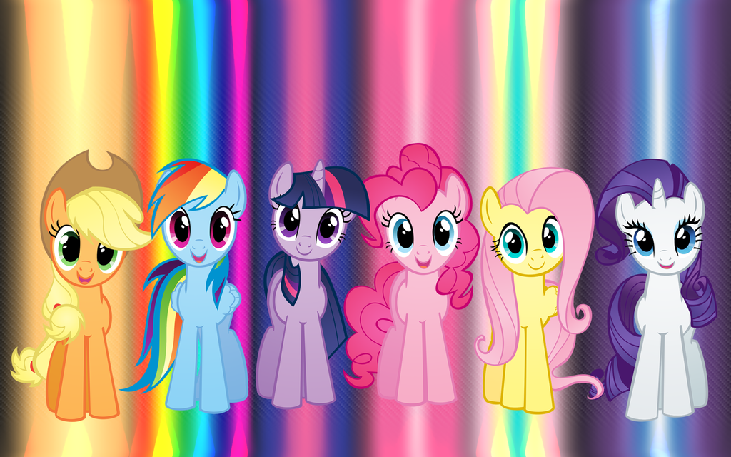 Fall Out Boy Wallpaper Hd Download My Little Pony Mane 6 Wallpaper Gallery