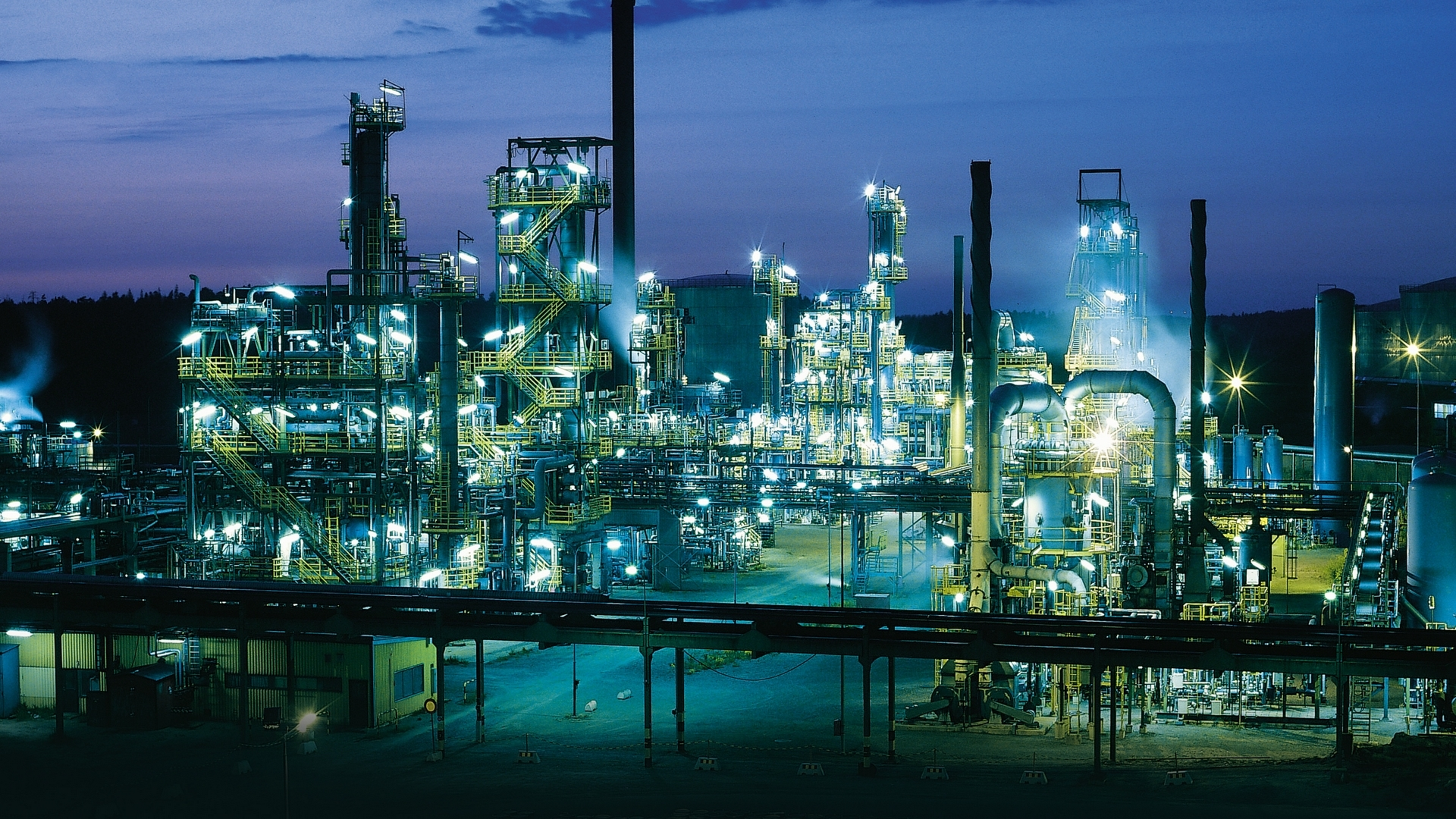 3d Wallpaper Malaysia Download Oil Refinery Wallpaper Gallery