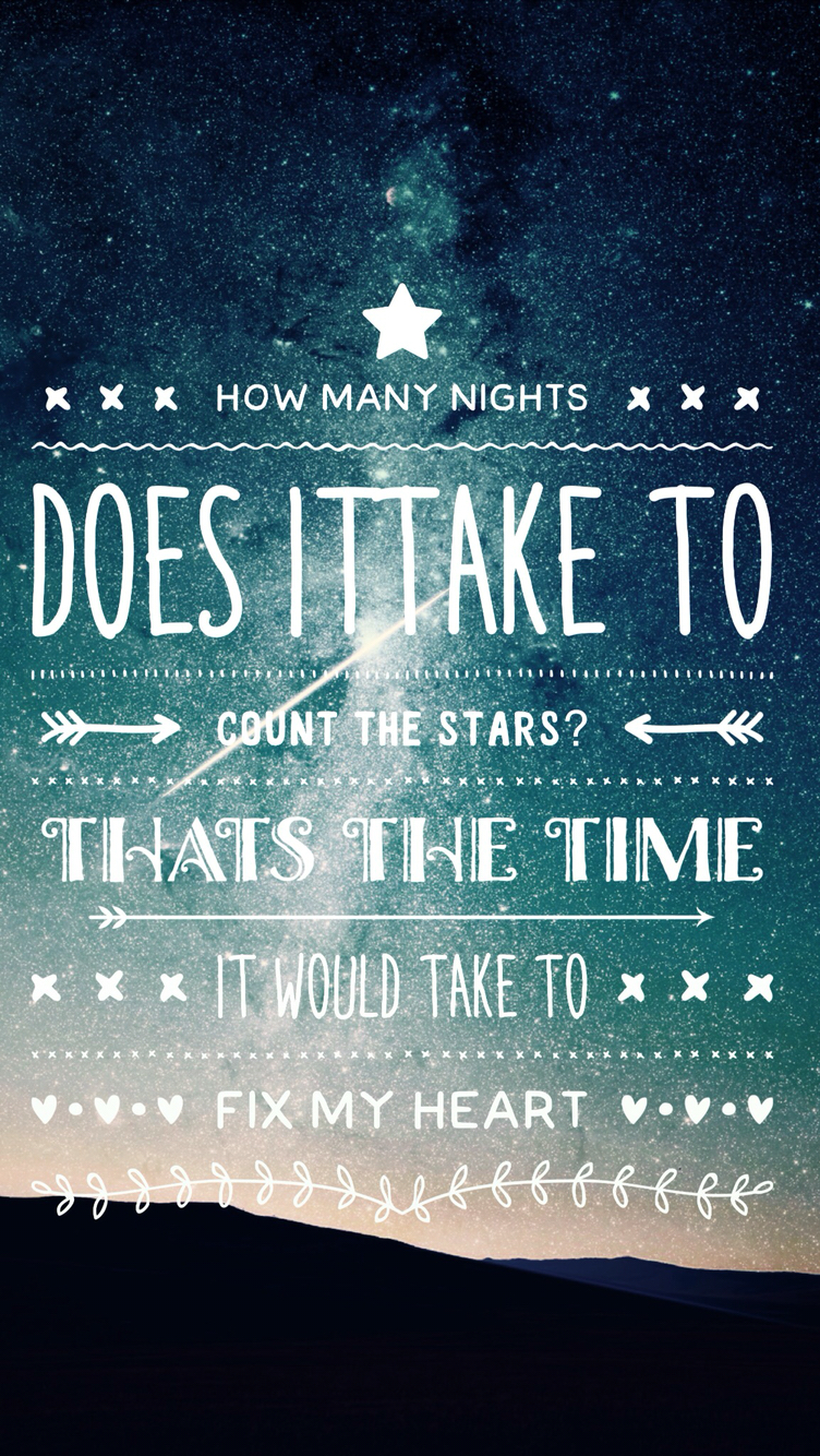 Quote Wallpapers For Iphone 4 Download One Direction Lyrics Wallpaper Gallery