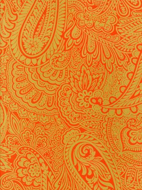 Lion Live Wallpaper Iphone Download Orange Paisley Wallpaper Gallery