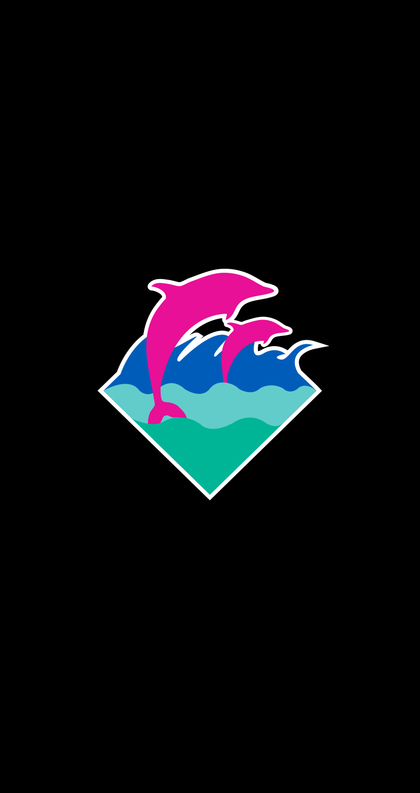 Live 3d Dolphin Wallpaper Download Pink Dolphin Logo Wallpaper Gallery