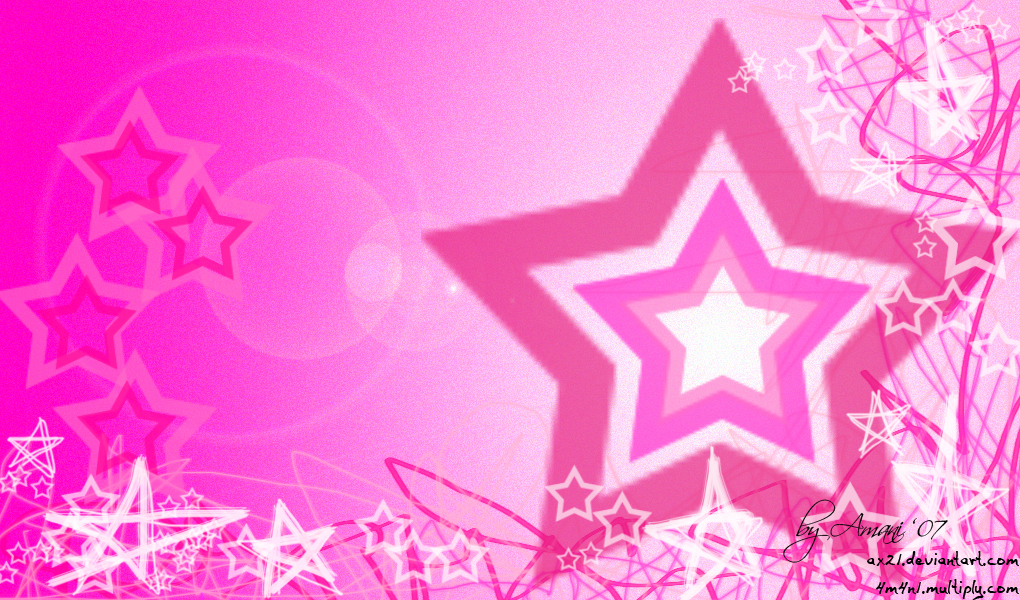 Live Animated Wallpapers For Windows 7 Download Pink Stars Wallpaper Gallery