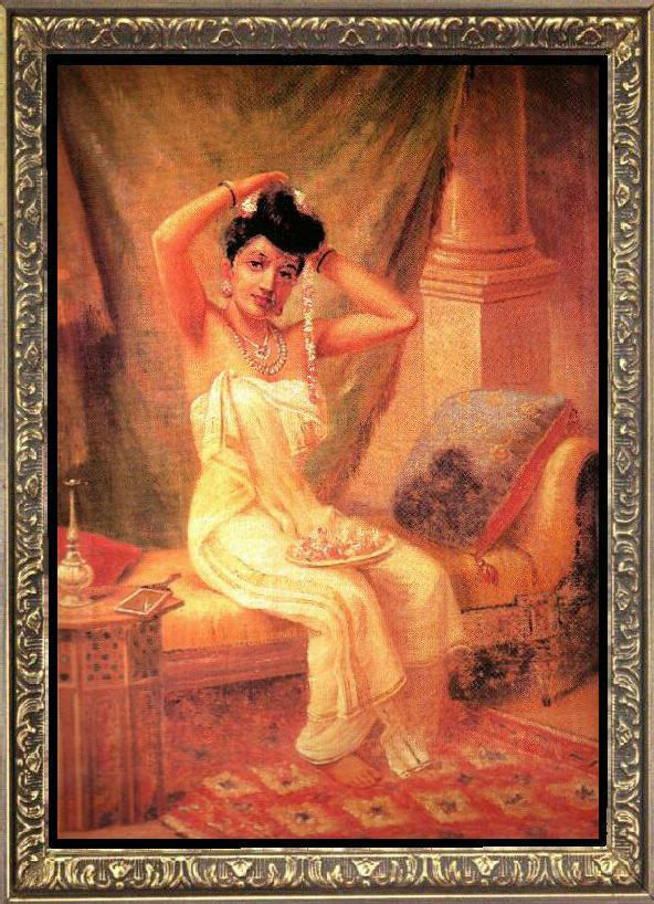 Beautiful Girl Full Screen Wallpaper Download Raja Ravi Varma Paintings Wallpapers Gallery