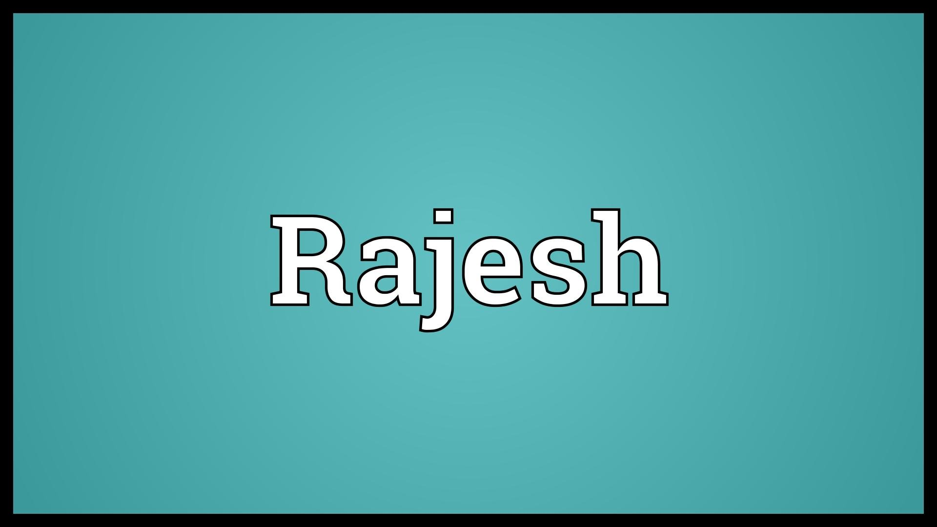Birthday Wallpaper With Quotes Download Download Rajesh Name Wallpaper Gallery