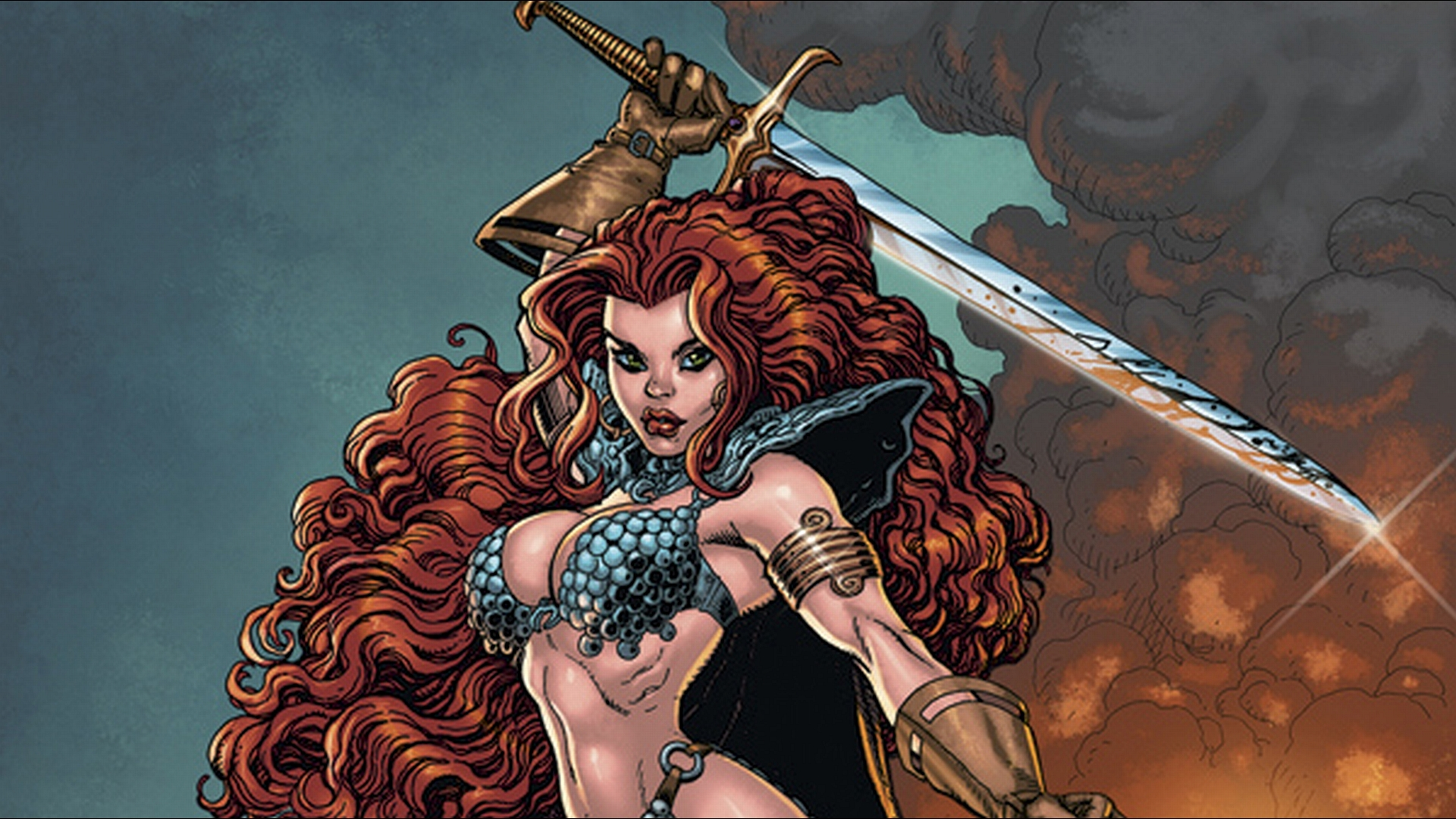 Amazing 3d Live Wallpapers Hd Download Red Sonja Wallpaper Gallery