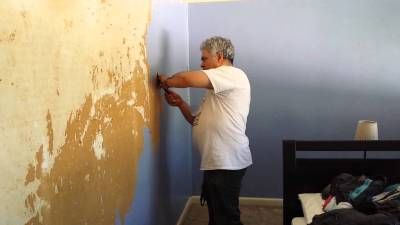 Download Removing Painted Wallpaper Gallery