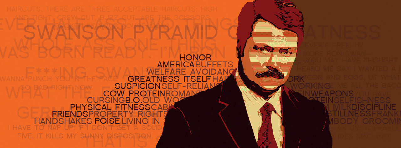 Moving Wallpapers For Girls Download Ron Swanson Pyramid Of Greatness Wallpaper Gallery
