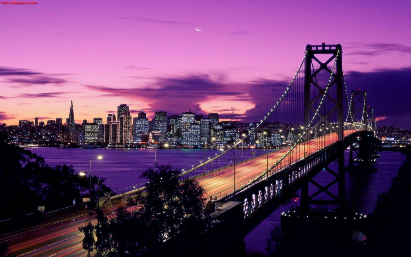 Car Desktop Wallpaper Hd 3d Full Screen Free Download Download San Francisco At Night Wallpaper Gallery