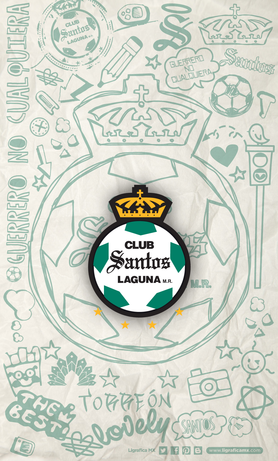 Iphone Sayings Wallpaper Download Santos Laguna Wallpaper Gallery