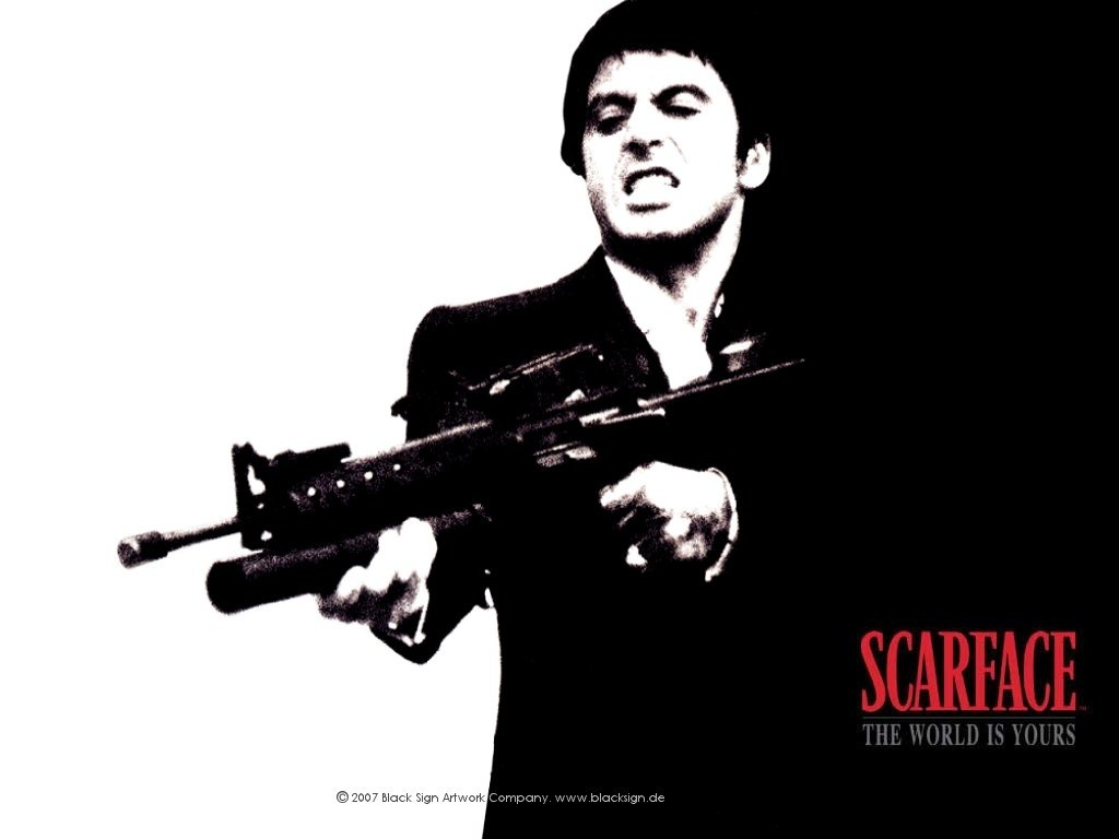 Scarface Quotes Wallpapers Download Scarface Wallpaper Download Gallery