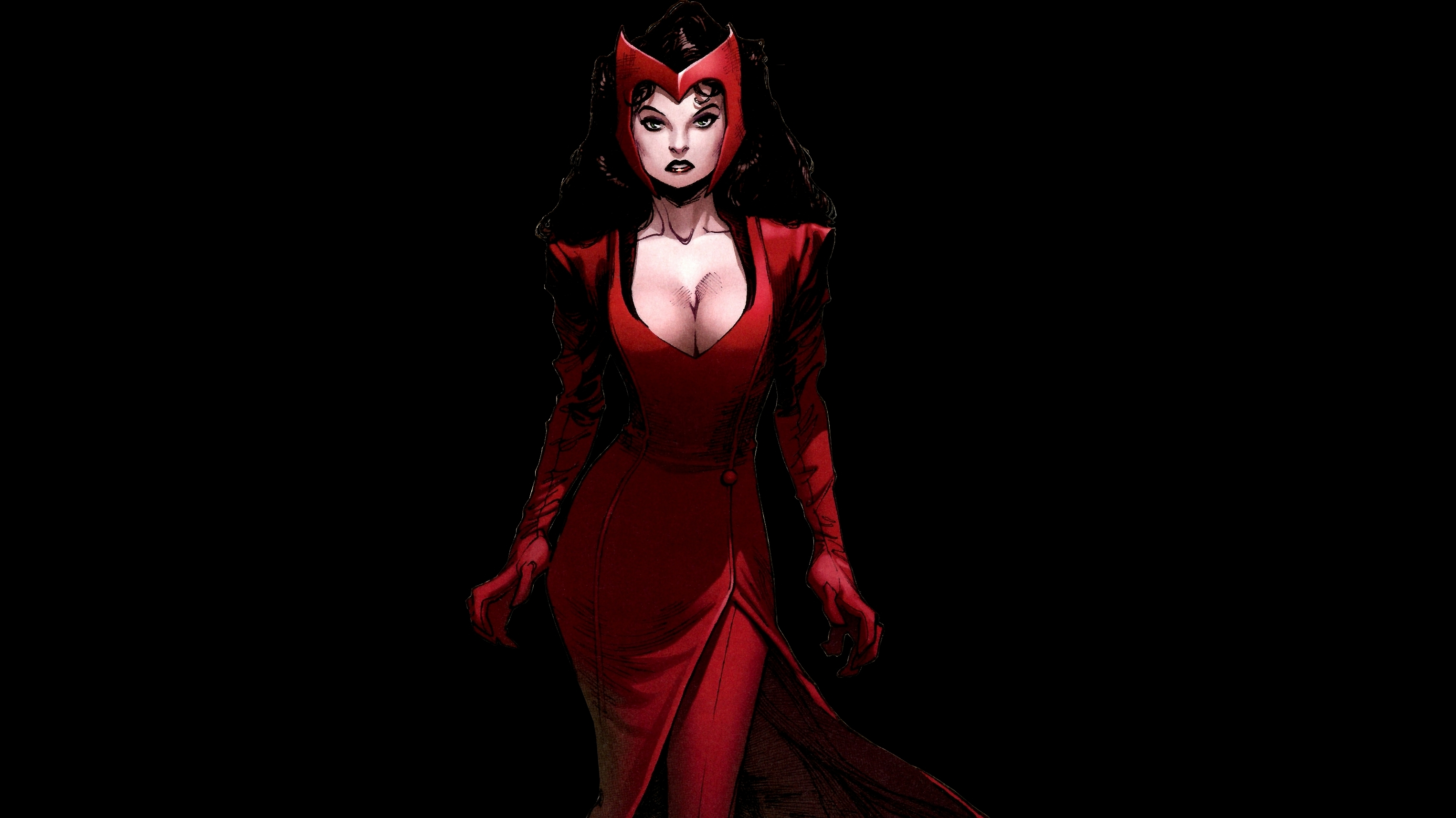 Cute Rose Wallpaper For Computer Desktop Download Scarlet Witch Wallpaper Gallery