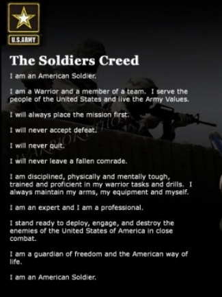 Iphone 4s Wallpapers Free Download Soldiers Creed Wallpaper Gallery