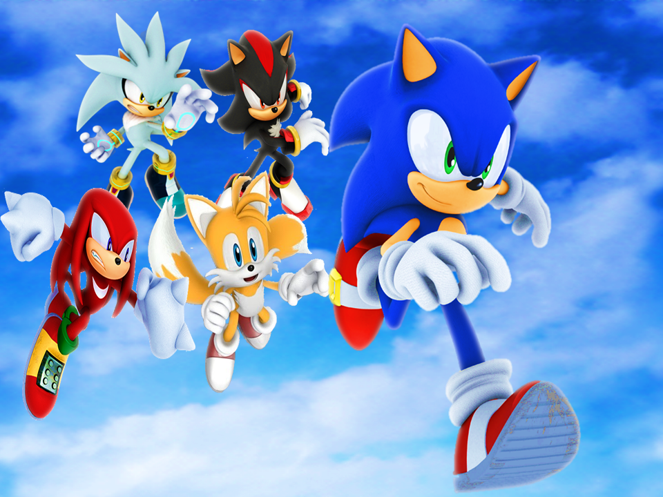 3d Holi Wallpapers Free Download Download Sonic And Friends Wallpaper Gallery